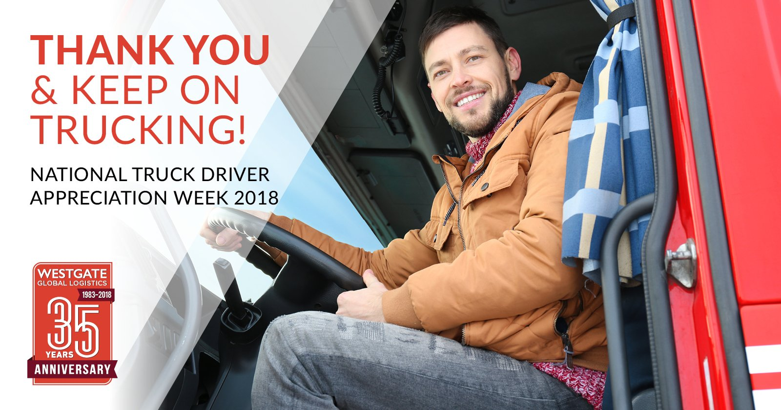 2018 Driver Appreciation Week